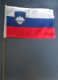 Slovenia Country Hand Flag - Medium (stitched).